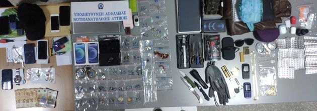 Εξαρθρώθηκε σπείρα διαρρηκτών – Με παραποιημένα αποτυπώματα και πλαστό διαβατήριο ο