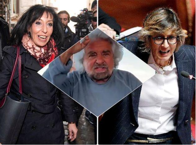 Anna Macina, Beppe grillo, Giulia