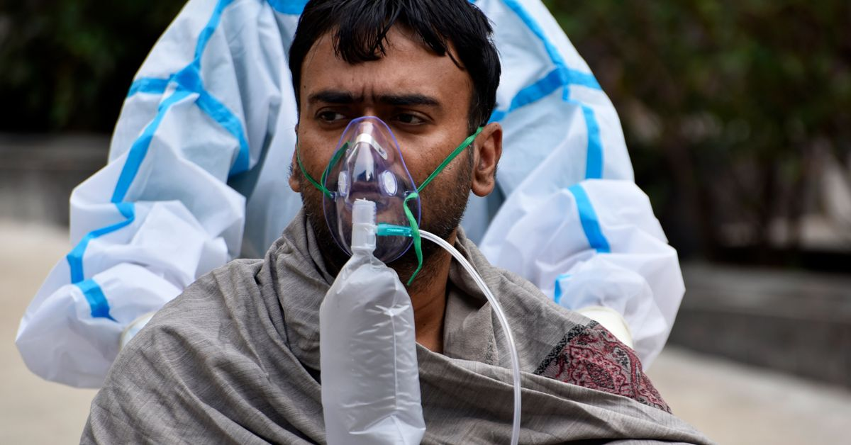 India Posts World Record Covid Cases As Hospitals Run Out Of Oxygen
