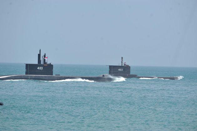 Imagen de archivo de submarinos en