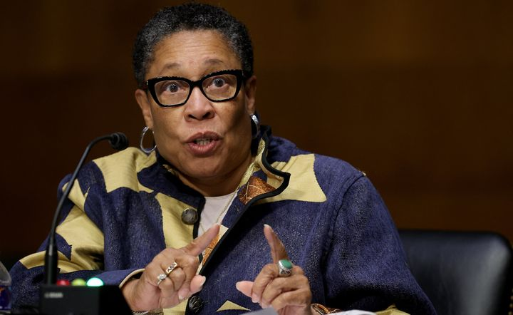 Housing and Urban Development Secretary Marcia Fudge withdrew a Trump administration rule that would discriminate against tra