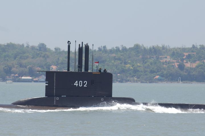 Indonesia submarine KRI Nanggala-402 disappeared two days ago and has less than a day's supply of oxygen left for its 5