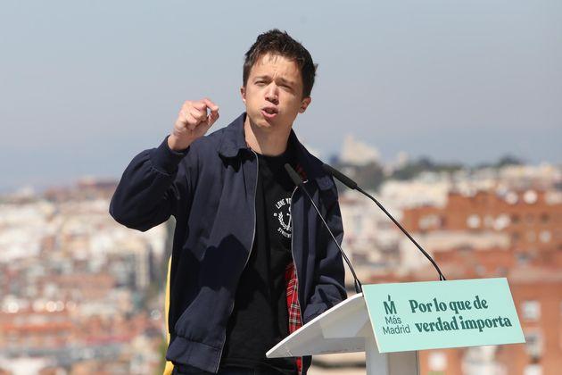 Íñigo Errejón, portavoz de la marca nacional de Más Madrid, Más