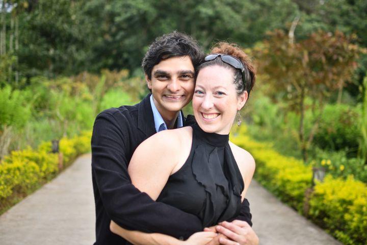 Amber Annett and Mehul Vora