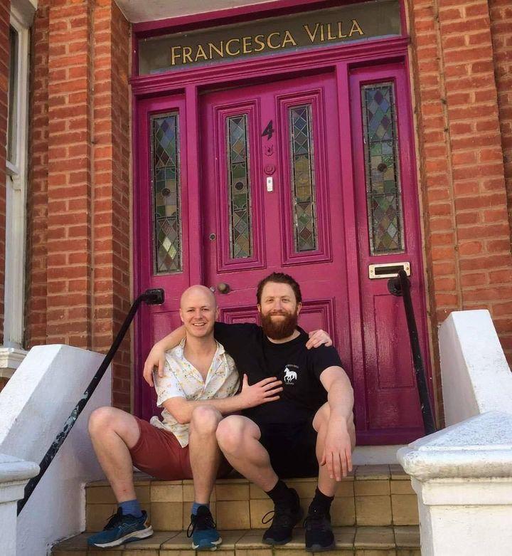 Owen Pickrell and Padraig Doran