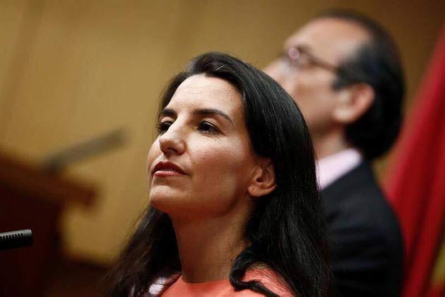 Rocío Monasterio, candidata de Vox a la Comunidad de