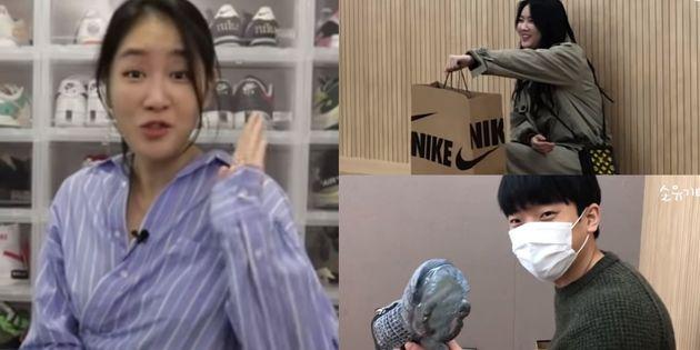 가수 소유가 자신의 신발을 팔아 매니저에게 신발을