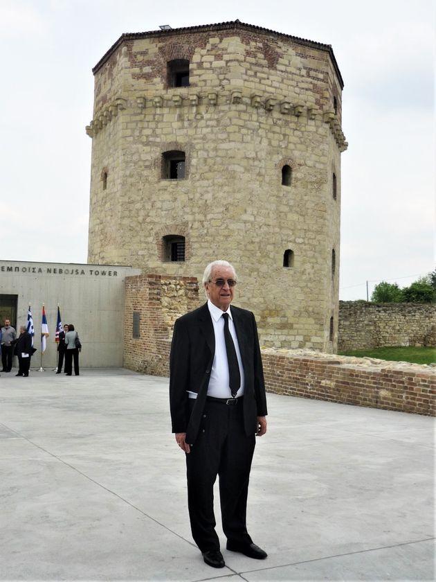 Ο Νίκος Ζίας στον Πύργο Νεμπόισα, στο
