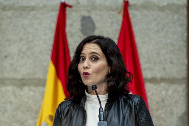 Isabel Diaz Ayuso, en una imagen