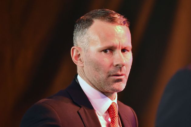 Wales' coach Ryan Giggs arrives to attend the UEFA Euro 2020 football competition final draw in Bucharest...