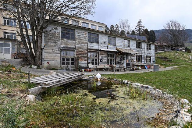 La maison à Sainte-Croix, en Suisse, où Mia Montemaggi a été retrouvée...