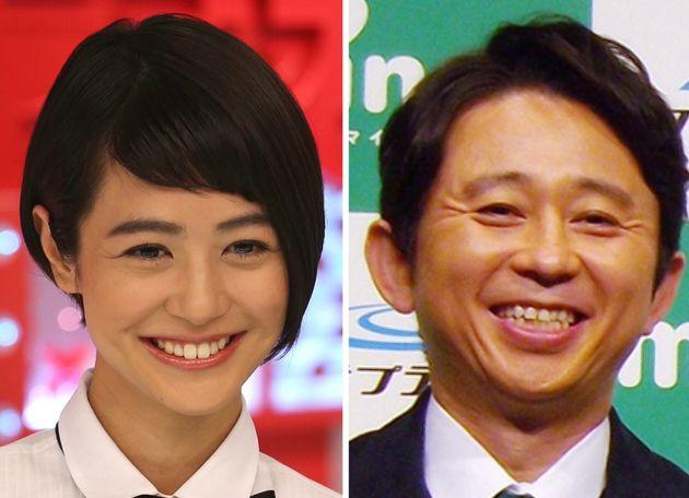 夏目三久さんと有吉弘行さん