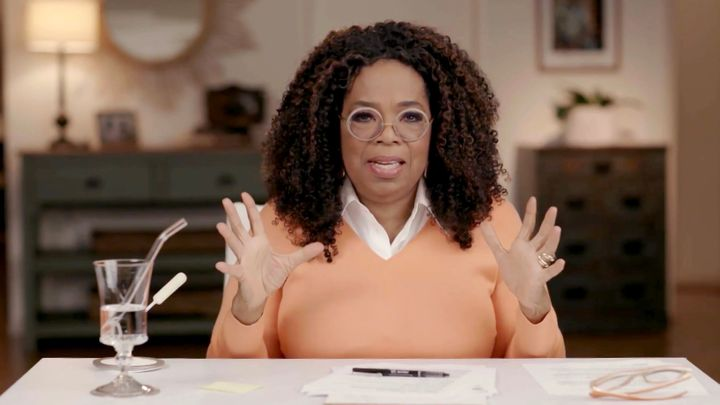 """Oprah Winfrey has admitted she was """"surprised"""" at how open and forthcoming Meghan Markle and Prince Harry were du"""