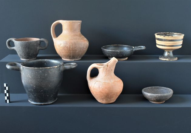 Πήλινα αγγεία των κλασικών και πρώιμων ελληνιστικών χρόνων, Κτερίσματα τάφων της περιόδου.