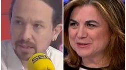 Multitud de comentarios por el tuit de Lucía Méndez sobre lo que dijo Pablo Iglesias en la