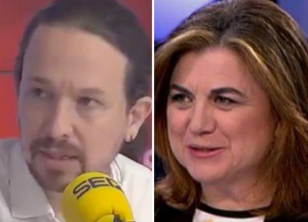 Pablo Iglesias y Lucía