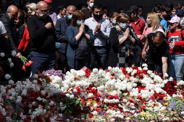 Ημέρα Μνήμης στο Γερεβάν...