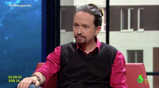Pablo Iglesias, en 'LaSexta