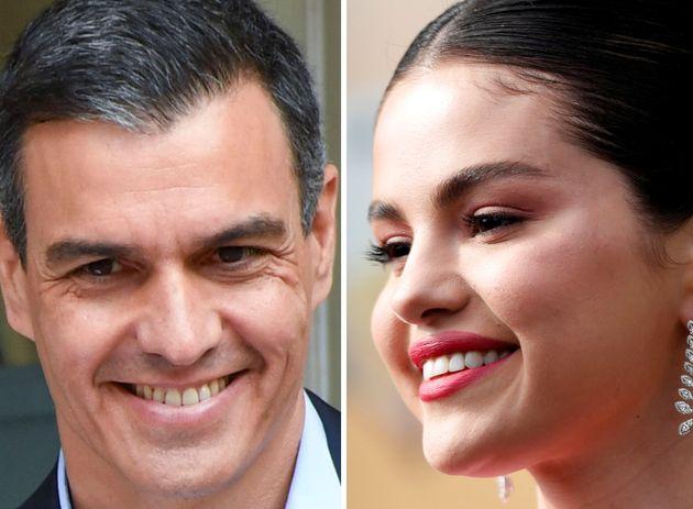 Pedro Sánchez y Selena