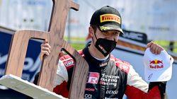 Cet improbable accident n'a pas empêché Sébastien Ogier de remporter le rallye de