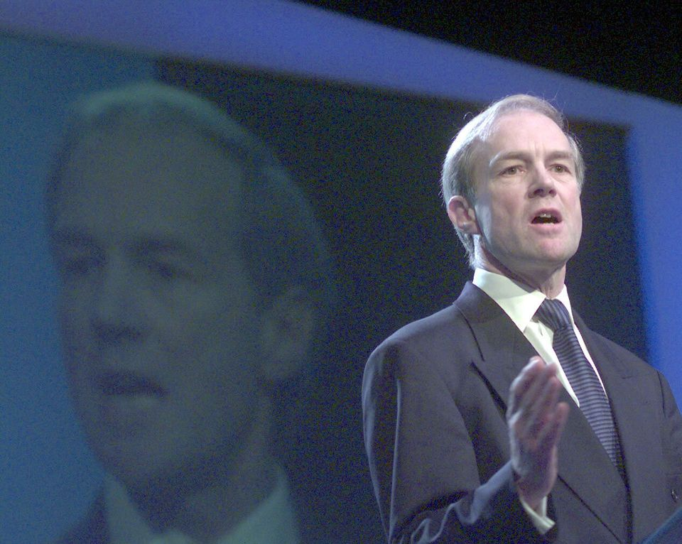 Former Tory deputy leader Peter Lilley, who led the 'back to basics'