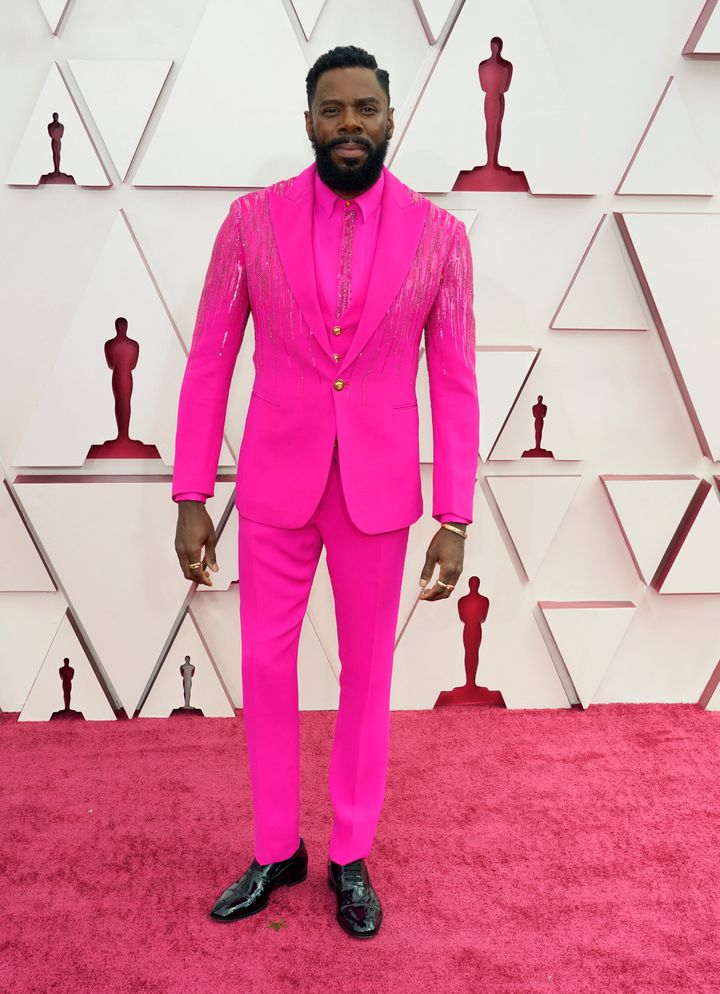 Colman Domingo attends the 93rd Annual Academy Awards.