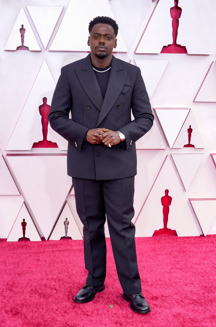 Daniel Kaluuya attends the 93rd Annual Academy Awards.