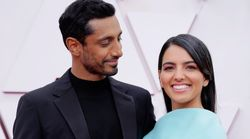 Riz Ahmed Fixes His Wife's Hair On Oscars Red Carpet And The World