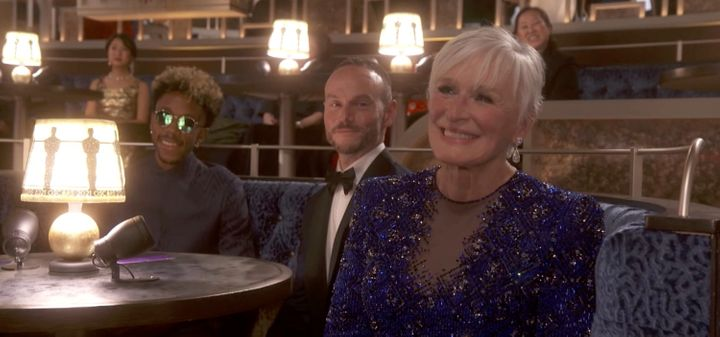 Glenn Close stole the show at the Oscars on Sunday, even though she didn't take home an award.