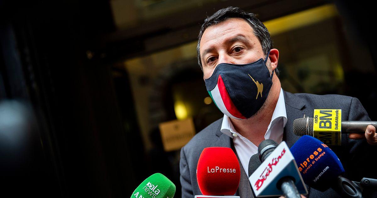 """Matteo Salvini: """"La Lega sta al Governo, Letta non provochi ogni giorno"""""""