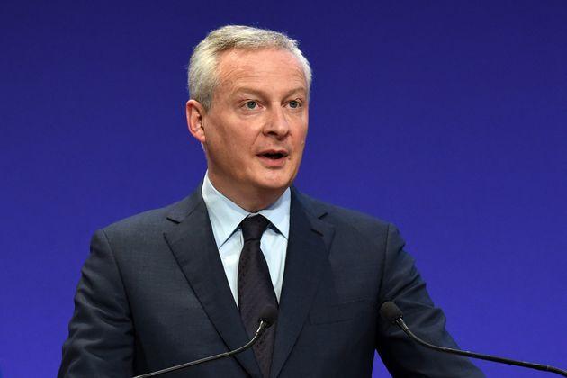 Le ministre de l'Economie, des Finances et de la Relance, Bruno Le Maire. (Eric PIERMONT /