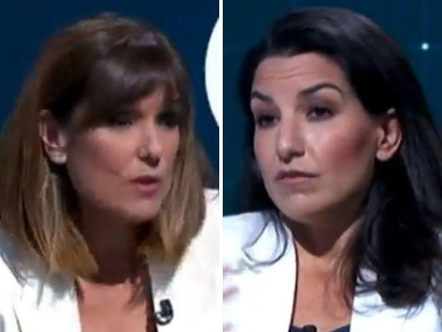 Mónica López y Rocío Monasterio en