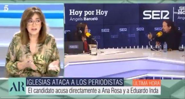 Ana Rosa Quintana, en su