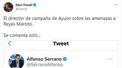 Un diputado del PSOE, contra un dirigente del PP por su tuit sobre el autor de las