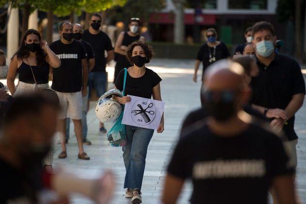 Protesta de trabajadores
