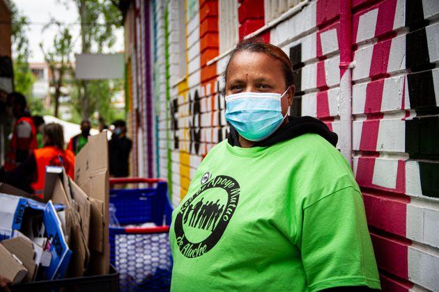 Gabriela, voluntaria y receptora de la Red de Apoyo Mutuo de