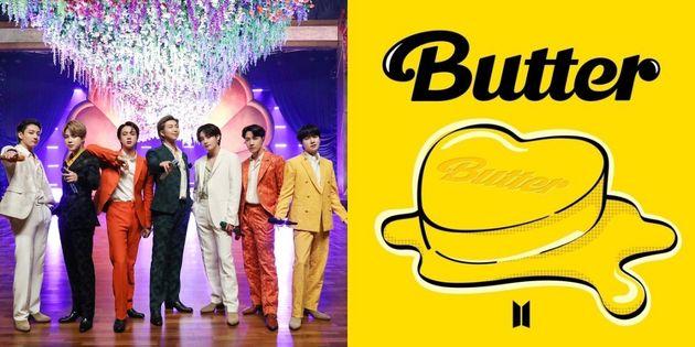 BTS 방탄소년단이 5월21일 디지털 싱글 '버터(Butter)로