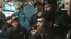 El sobrecogedor vídeo del submarino indonesio minutos antes de hundirse que emociona al