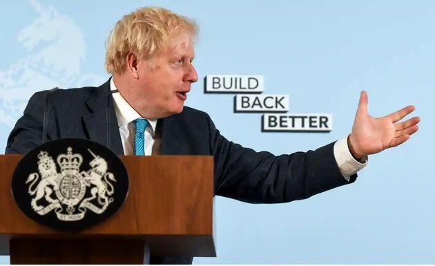 Boris Johnson has used his party's