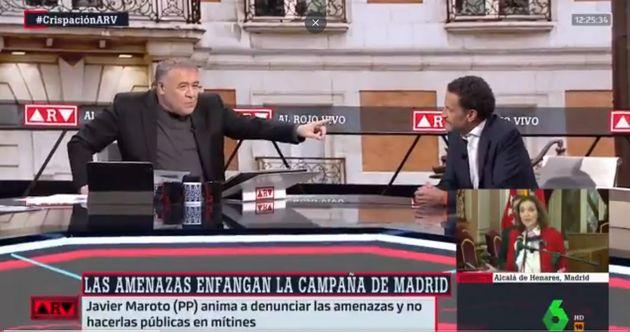 Ferreras, con Edmundo