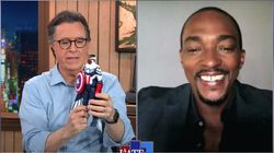 Anthony Mackie Thinks His 'Captain America' Action Figure Looks Like Someone