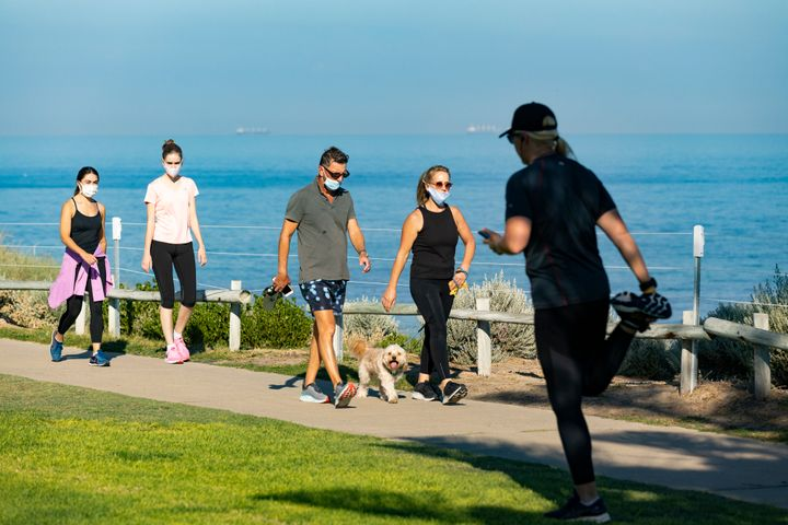 The CDC issued new guidelines on masks outdoors as the COVID-19 pandemic continues.