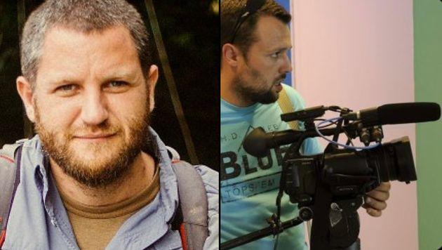 Los periodistas David Beriáin y Roberto Fraile en una imagen de