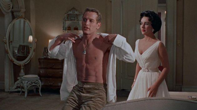 Paul Newman y Elizabeth Taylor en 'La gata sobre el tejado de