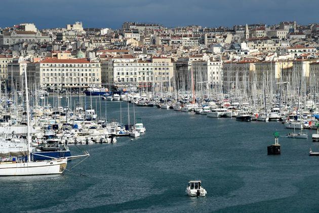 Le Vieux-Port de Marseille le 19 février 2021 (photo