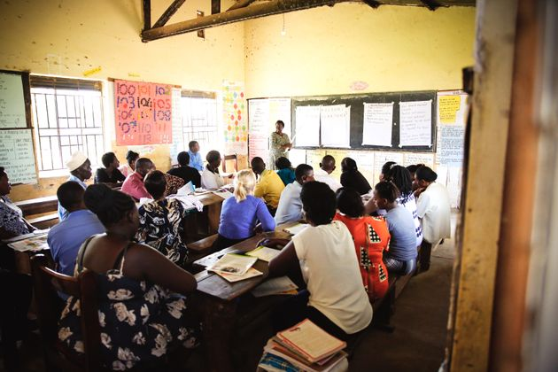 STiR's work in countries such as Uganda provides education to underprivileged
