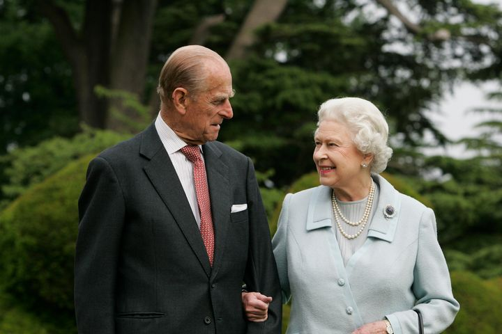 Queen Elizabeth and Prince Philip re-visit Broadlands to mark their Diamond Wedding Anniversary on Nov. 20, 2017. The royals