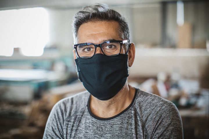 Mask-wearing (which is essential!) can contribute to dry eyes.