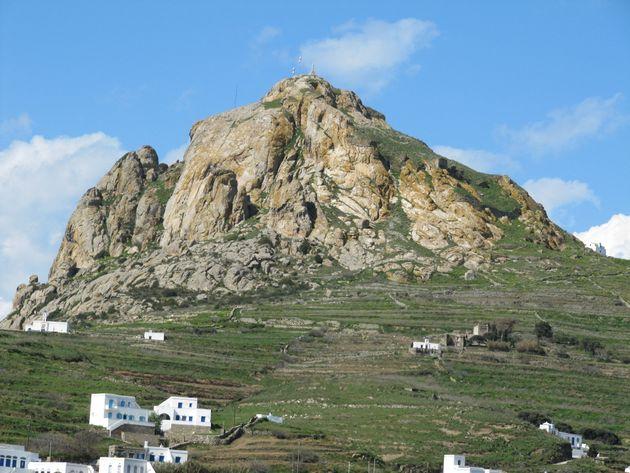 Ο βράχος του Εξώβουργου.