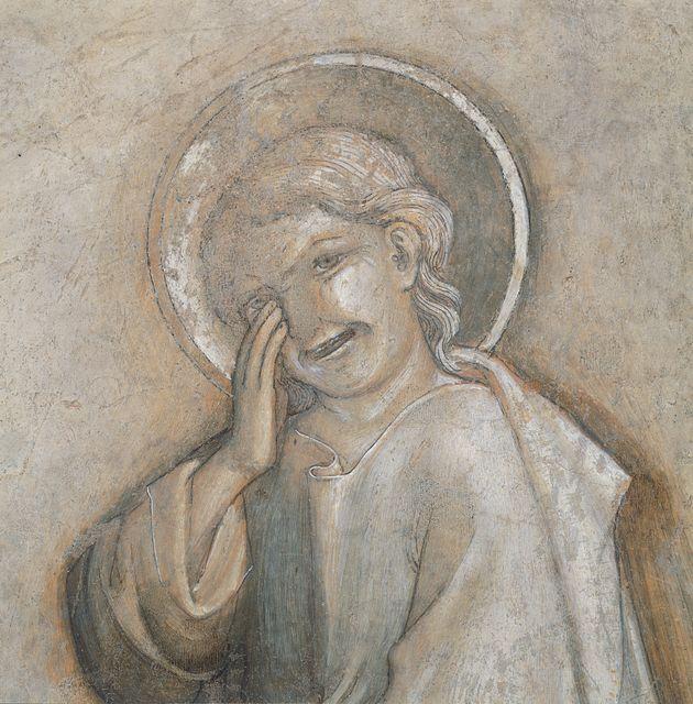 Ιταλία - Εθνική Πινακοθήκη της Ούμπρια - Ο Ιωάννης ο Ευαγγελιστής κλαίει.